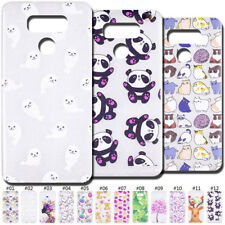 Fashion Back Clear Slim Skin Rubber Cover TPU Soft Case For LG G6/G6+/G6 Plus