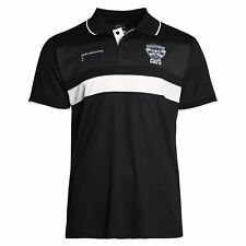 AFL Geelong Cats 2018 Mens Premium Polyester Polo T-Shirt BNWT