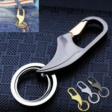 Creative Casual Metal Blade Key Chain Ring Keychain Keyring Gift For Men