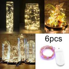 LED Battery Micro Rice Wire Copper Fairy String Lights Party Wedding Decoration