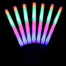 Cool Flash stick Concert Bar LED Flashing Torch Stick Magic Wand Tool Gift  2018