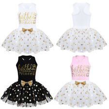 Shinny Kids Baby Girls Princess Tutu Skirt Birthday Formal Pageant Party Dresses