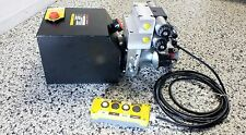 Hydraulic Power Pack 12 or 24Volt DC 2.5 KW 2X Dbl Acting 9.0 Lt/Min 3500 PSI