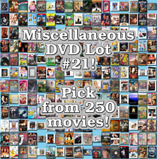 Miscellaneous DVD Lot #21: DISC ONLY - Pick Items to Bundle and Save!