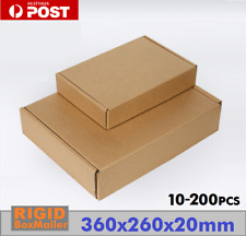 360x260x20mm Letter Size Mailing Box Superflat Rigid Box Envelope Flat Mailer OZ