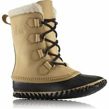 Sorel Caribou Slim Womens Boots - Curry Black All Sizes