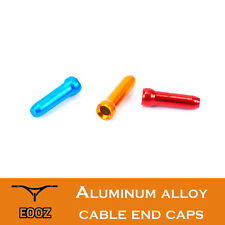 30pcs / 500pcs Al Bicycle Brake Cable End Cap Ultralight Bike Line Cap Cover