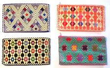 Mexican Woven Cosmetic Bag Handmade Women's Makeup - Mother's Day Gift for Her
