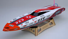 Exceed Racing Electric Powered Fiberglass Dee V 720mm Brushless ARTR RC Boat