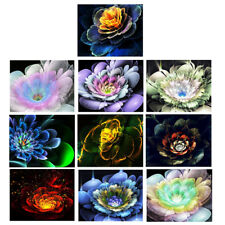 DIY 5D Diamond Painting Embroidery Flower Cross Stitch Crafts For Wall Decor