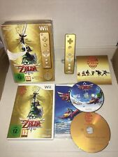The Legend of Zelda Skyward Sword Limited Edition + Gold Remote for Wii & Wii U