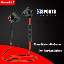 Headphones Bluetooth 4.1 In-Ear Earphone Wireless Sport Stereo Music Headset MIC