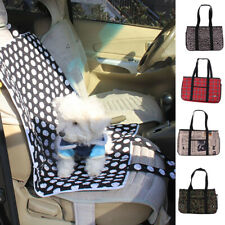 Portable Pet Carrier Dog Cat Tote Crate House Kennel Cage Travel Bag Rug Mat