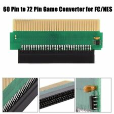 60 To 72 Pin Adapter Converter Connector Fr Nintendo FC Famicom to for NES LOT M