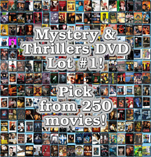Mystery & Thrillers DVD Lot #1: DISC ONLY - Pick Items to Bundle and Save!