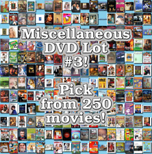 Miscellaneous DVD Lot #3: DISC ONLY - Pick Items to Bundle and Save!