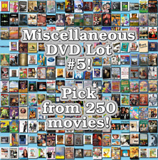 Miscellaneous DVD Lot #5: DISC ONLY - Pick Items to Bundle and Save!