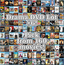 Drama DVD Lot #6: DISC ONLY - Pick Items to Bundle and Save!