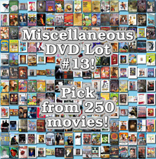 Miscellaneous DVD Lot #13: DISC ONLY - Pick Items to Bundle and Save!