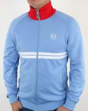Sergio Tacchini Dallas Track Top - Sky Blue, Red & White - BNWT LIMITED EDITION