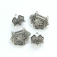 1Pcs Tibetan Silver Alloy Lock Pendant Accessories Jewelry Findings DIY HH3771