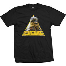 Han Solo Movie Chewie Triangle Official Star Wars Story Black Mens T-shirt