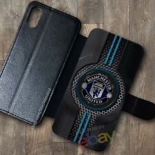 NEW!Manchester10!United867!Wallet Case iPhone X 7/8 Plus 6S Samsung S9+ S8 Cases