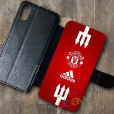 NEW!Manchester57!United108!Wallet Case iPhone X 7/8 Plus 6S Samsung S9+ S8 Cases