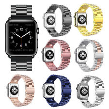 38mm 42mm Stainless Steel watchband Bracelet Strap  For Apple Watch iWatch 3 2 1