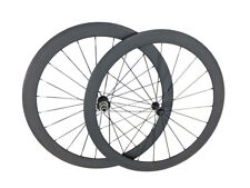 50mm Clincher Depth Ceramic Bearing Wheel Carbon 700C Wheelset Bicycle Wheels