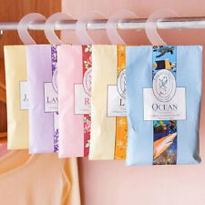 Wardrobe Hanging Mothproof Deodorizing Aromatherapy Natural Sachet Closet Bag Q