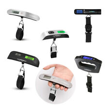 Travel 110lbs lb / kg /oz / g Digital LCD Luggage Scale Hook Weight Measuring