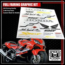 FAIRING/FENDER GRAPHIC KIT WING STICKER&EMBLEM DECAL FOR 01-07 CBR 600 600F F4i (Fits: More than one vehicle)