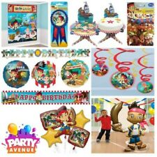 Jake & The Neverland Pirates Tableware Party Decorations Foil Balloons Confetti
