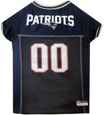 New England Patriots Dog Jersey NFL Pet Apparel Football Costume Size Large L