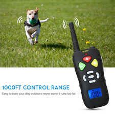 Dog Training Upgraded 1000ft Remote Waterproof Rechargeable Dog Shock Collar