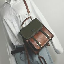 Fashion backpack women leisure shoulder bags high quality leather backpack