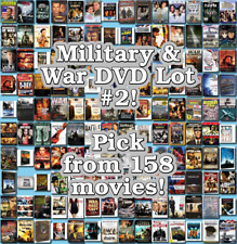 Military & War DVD Lot #2: DISC ONLY - Pick Items to Bundle and Save!