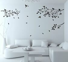 Branches Birds Wall Sticker Decal Mural Home Decor Living Room Bedroom HH5586