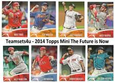 2014 Topps Mini The Future is Now Baseball Set ** Pick Your Team **