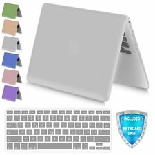 For MacBook Retina 12 Inch Metallic Soft Touch Plastic Hard Case Keyboard Cover