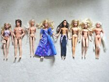 Barbie Ken Dolls some with Clothing And Accessories x8 Joblot