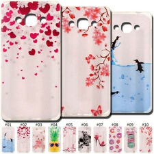 For Samsung Galaxy J3 Pro(2016) TPU Silicone Back Rubber Soft Case Skin Cover