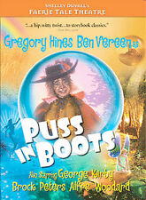 Faerie Tale Theatre  Puss In Boots (DVD, 2004) New/Sealed, Free Shipping !!!