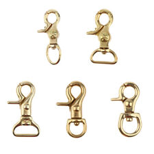 Lobster Clasps Brass Lobster Claw Clip Swivel Hooks for Jewelry Making Findings