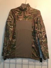 Multicam Army Combat Shirt Type II ACS MEDIUM Flame Resistant 1/4 Zippered NWOT