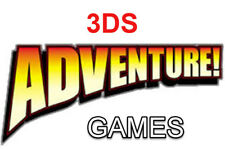 Adventure Nintendo 3DS Games Choose Your Game From The List
