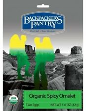 Backpacker's Pantry Organic Spicy Egg Omelet 1-Serving Freeze Dried Camping Food