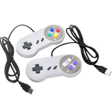 USB Retro Super Controller For SF SNES PC Windows Mac Game Accessories EOAU