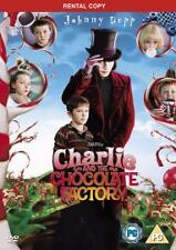 Charlie and the Chocolate Factory DVD (2005) Johnny Depp
